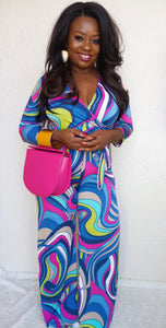 """Retro"" women's jumpsuit"