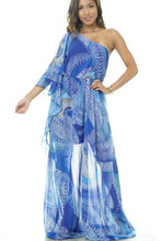 "Load image into Gallery viewer, ""Wavelength"" Maxi Dress"