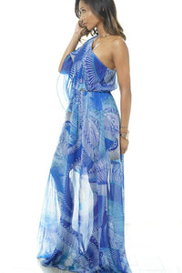 """Wavelength"" Maxi Dress"