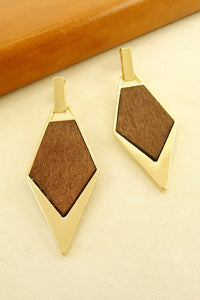 """Wooded"" Earrings"