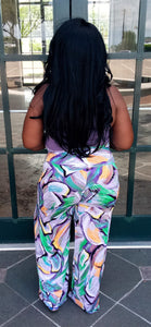 """Swept Off"" Purple Palazzo Pants"