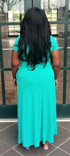 "Load image into Gallery viewer, ""Honey"" Dress in Teal"