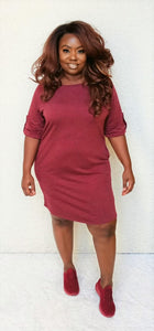 """Camryn"" Sweatshirt Tunic Dress"
