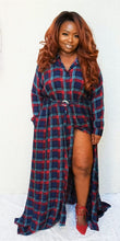 "Load image into Gallery viewer, ""*Upstage"" Plaid Dress"