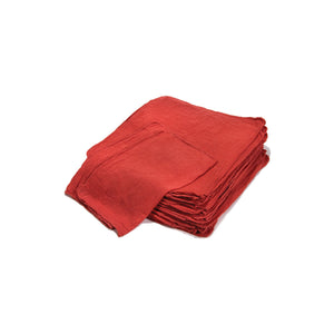 Red Shop Towels - Pk. 5