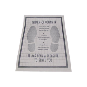 Disposable Floor Mats - Pk. 500