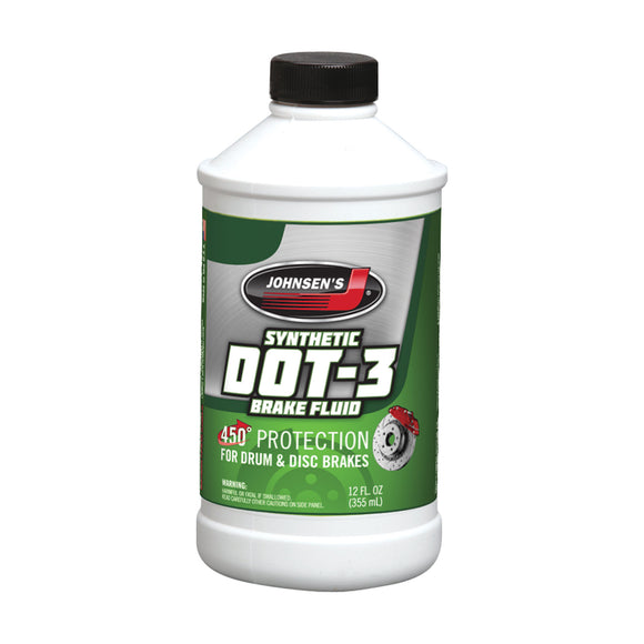 Johnsen's® DOT-3 Brake Fluid