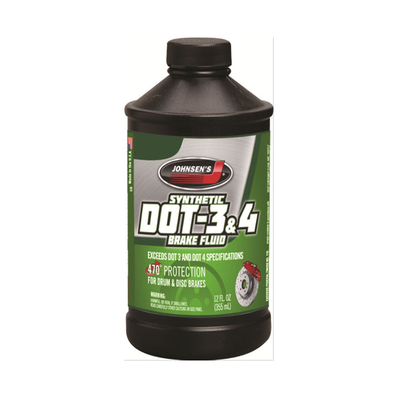 Johnsen's® DOT-4 Brake Fluid