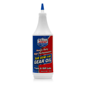 Lucas Heavy Duty 85W-140 Gear Oil