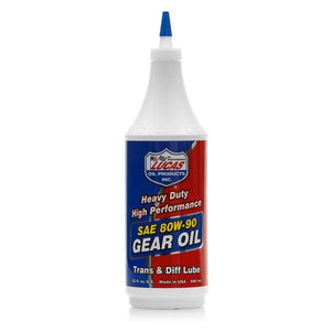 Lucas Heavy Duty 8W-90 Gear Oil