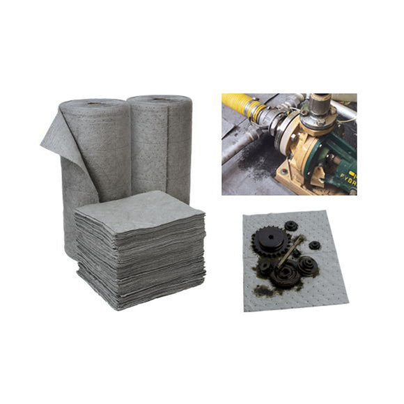 Oil Eater® Industrial Absorbent Pads & Rolls