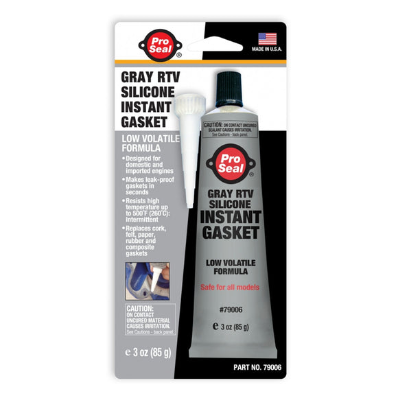 Gray RTV Silicone Instant Gasket