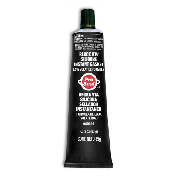 Black RTV Silicone Instant Gasket