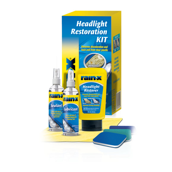 Rain‑X® Headlight Restoration Kit