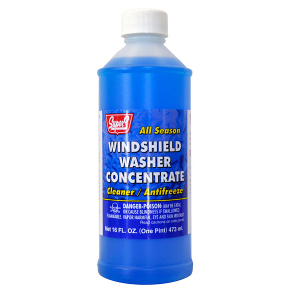 Super S Windshield Washer Concentrate - 16 oz.