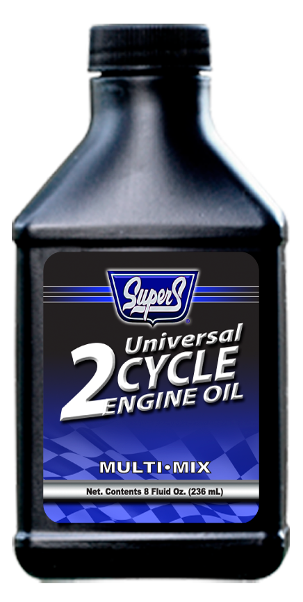Super S Universal Blue 2-Cycle Engine Oil - 8oz