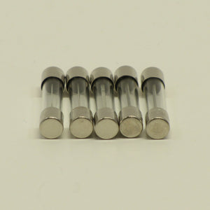 LIttelfuse Glass Fuses - Pk. 5