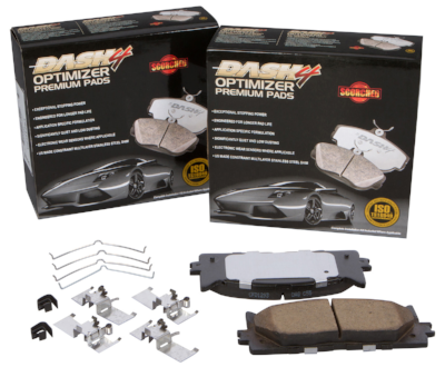 CFD707 | All Ceramic Dashe 4 Optimizer Brake Pad
