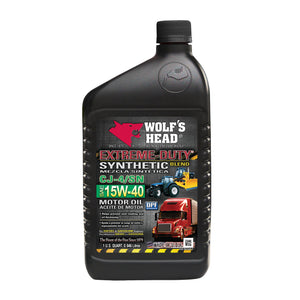 Wolf's Head 15W-40 Extreme Duty Motor Oil
