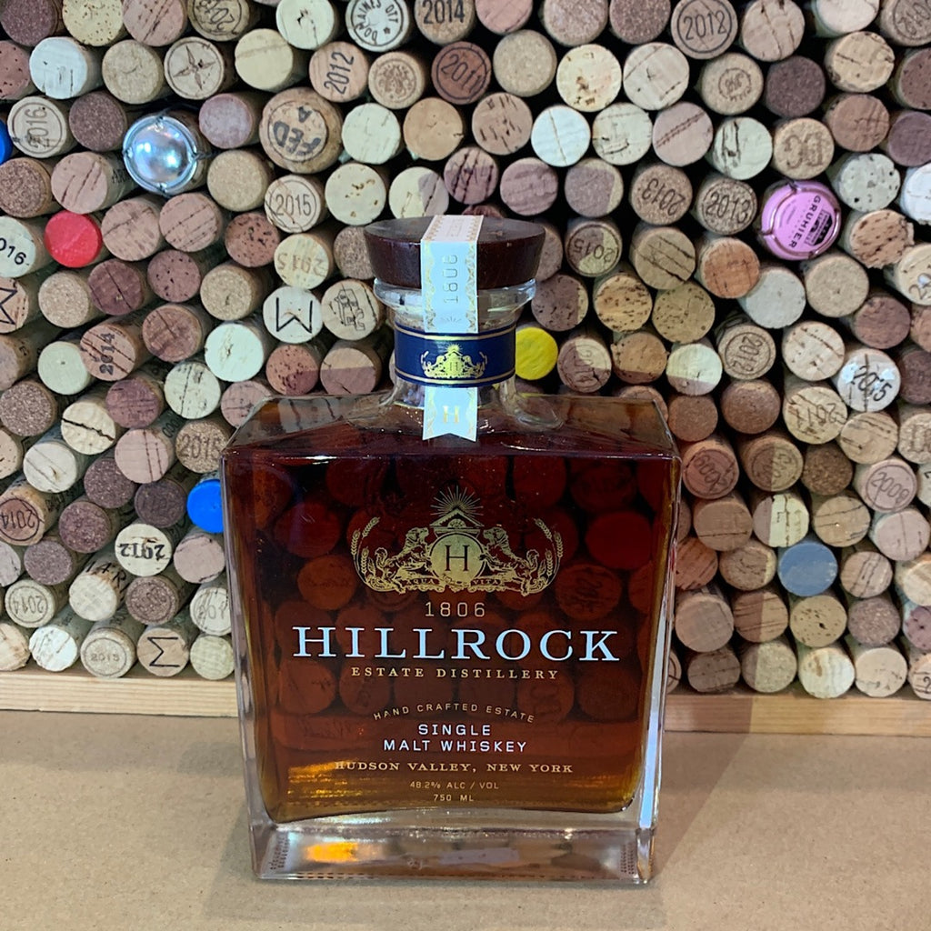 Hillrock Estate Distillery Hudson Valley Single Malt 750ml