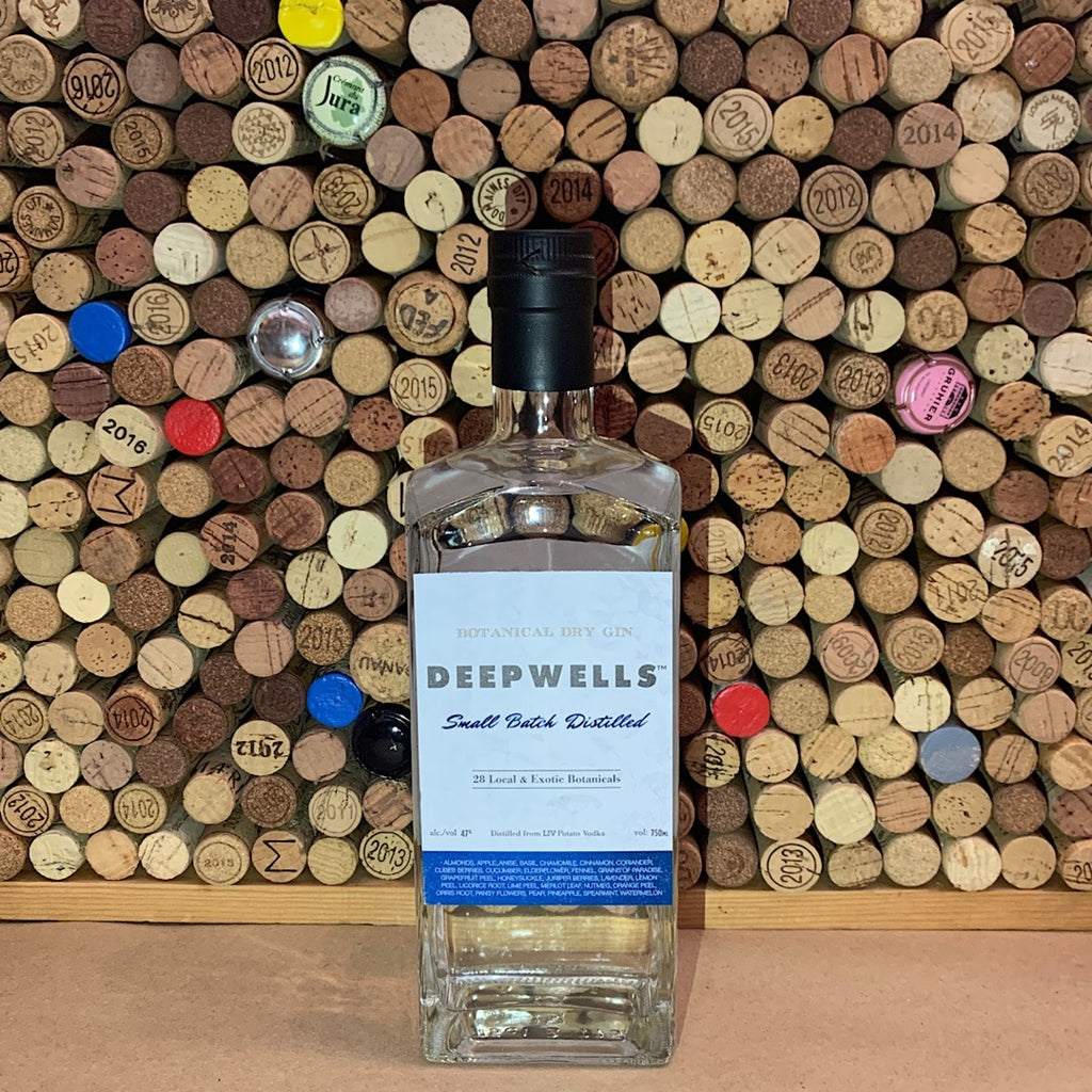 Deepwells Botanical Dry Gin, Long Island Spirits 750ml
