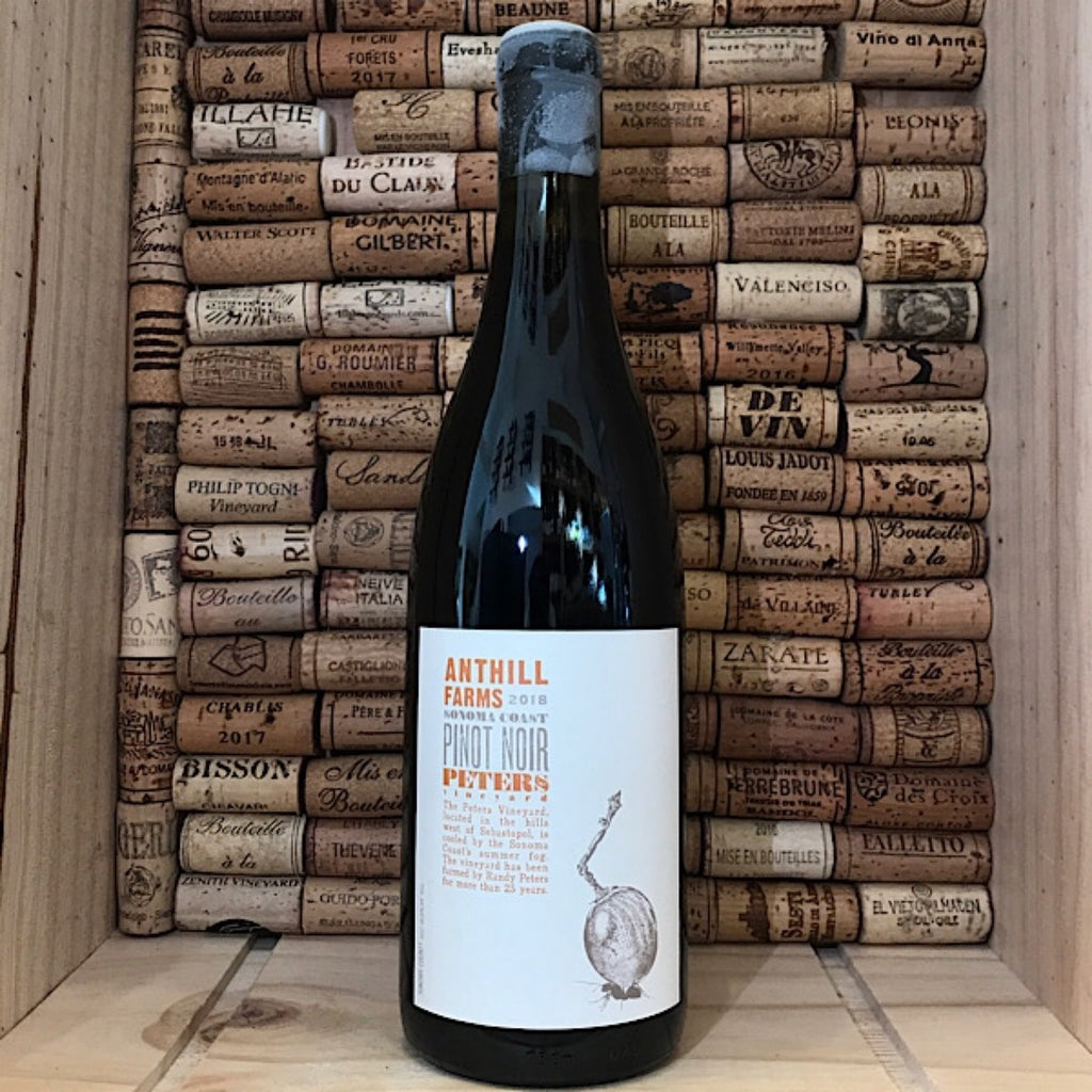 Anthill Farms Peters Vineyard Sonoma Coast Pinot Noir 2018