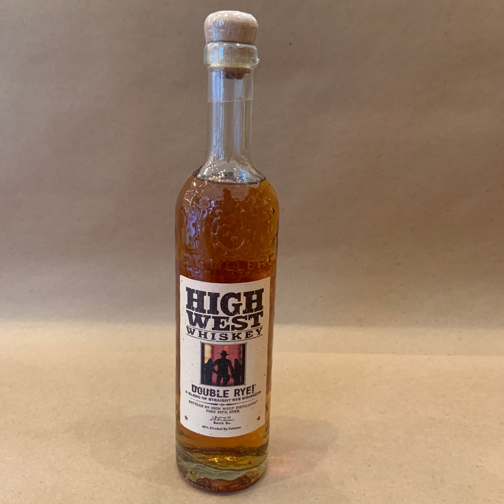 High West Double Rye Utah 750 ml