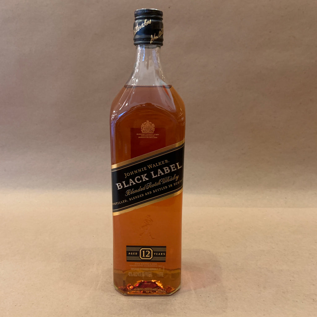Johnnie Walker Scotch Black Label 750ml