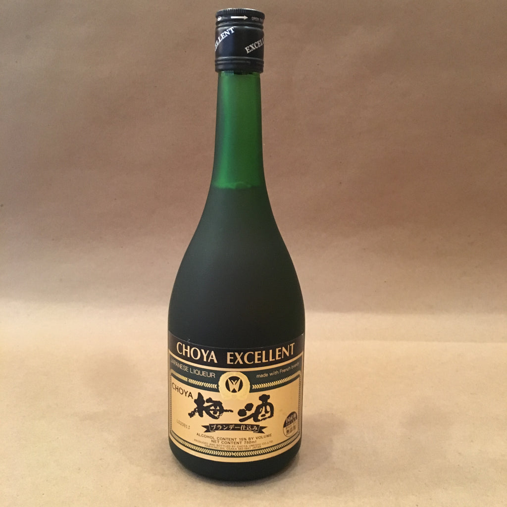 CHOYA Excellent UMESHU 750ml