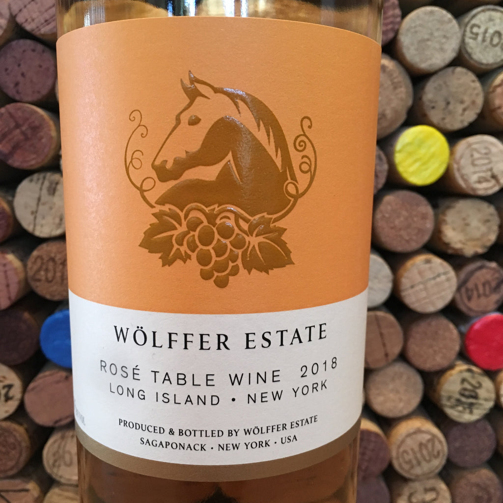 Wolffer Estate Vineyard Long Island Rosé Table Wine 2019