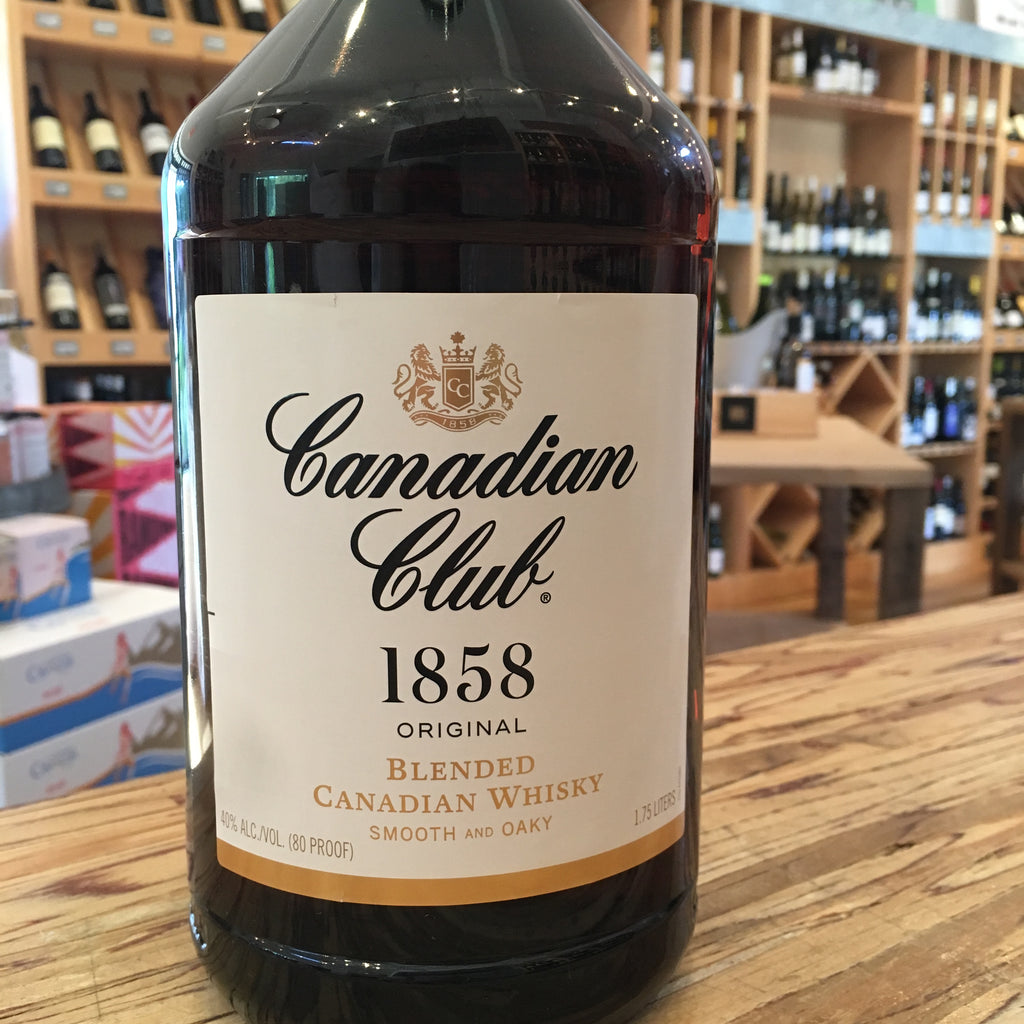 Canadian Club 1858 80° Pet 1.75L
