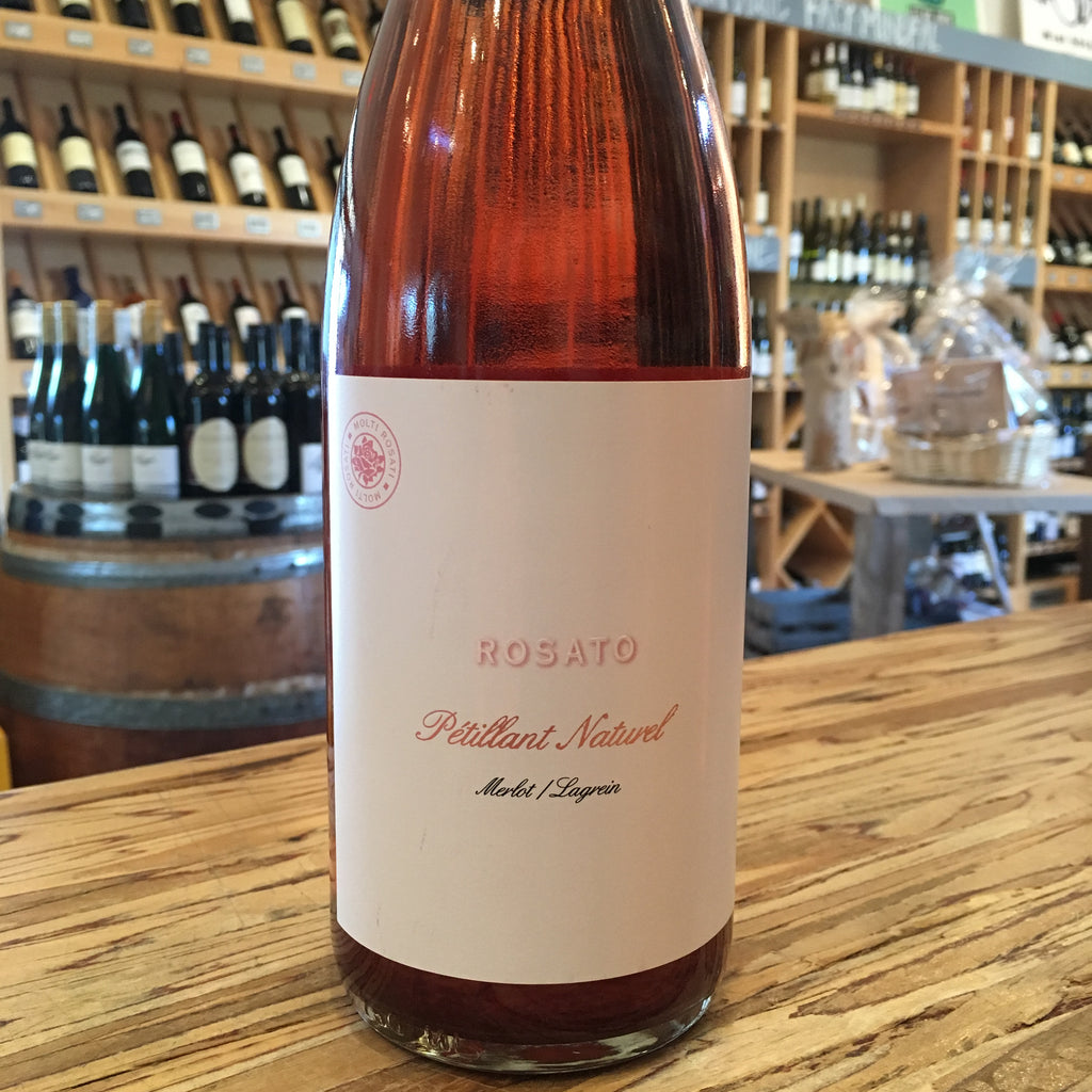 Channing Daughters Winery PetNat ROSATO Merlot/Lagrein 2017