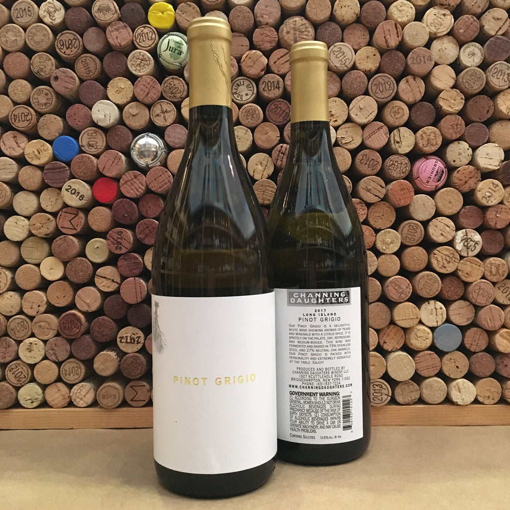 Channing Daughters Winery Pinot Grigio 2018