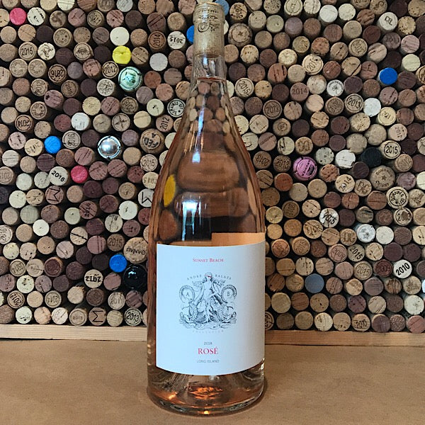 Channing Daughters Winery Andre Balazs Sunset Beach 1.5L Long Island Rose 2018