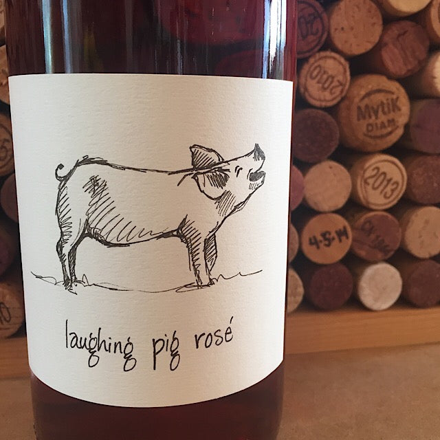 Big Table Farm Laughing Pig Willamette Valley Pinot Noir Rose 2017