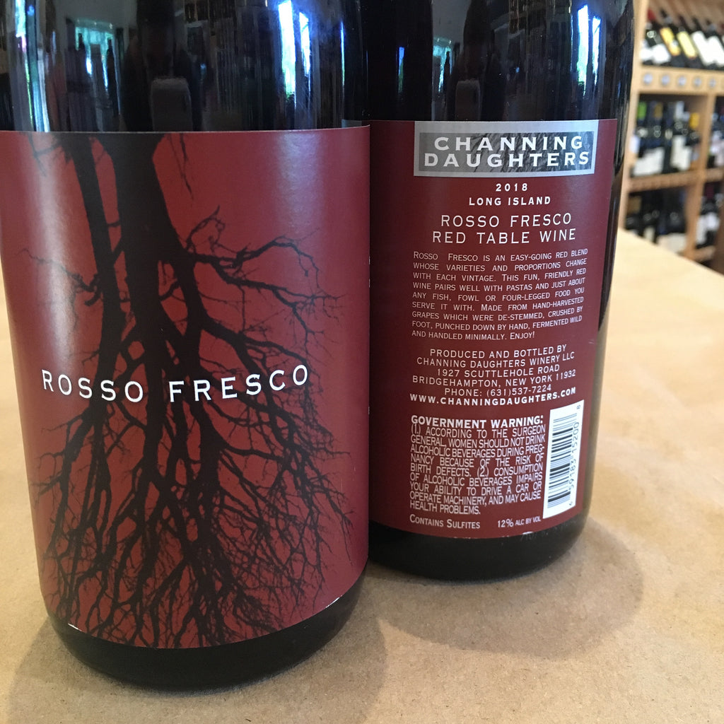 Channing Daughters Winery Rosso Fresco 2018/2019