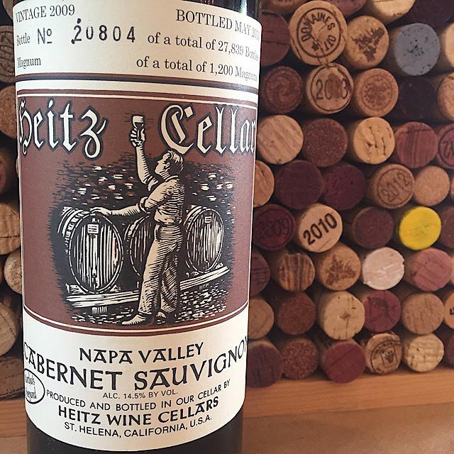 Heitz Cellars Martha's Vineyard Napa Valley Cabernet Sauvignon 2009