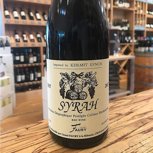 Domaine Faury VDP Collines Rhodaniennes Syrah 2017
