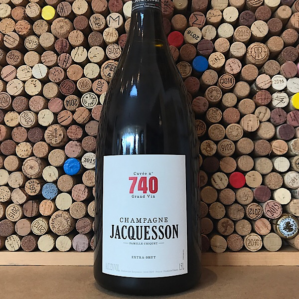 Champagne Jacquesson Cuvee 740 Extra Brut 1.5L NV