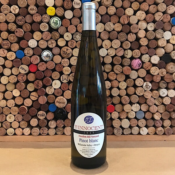 St Innocent Freedom Hill Vyd Willamette Valley Pinot Blanc 2016
