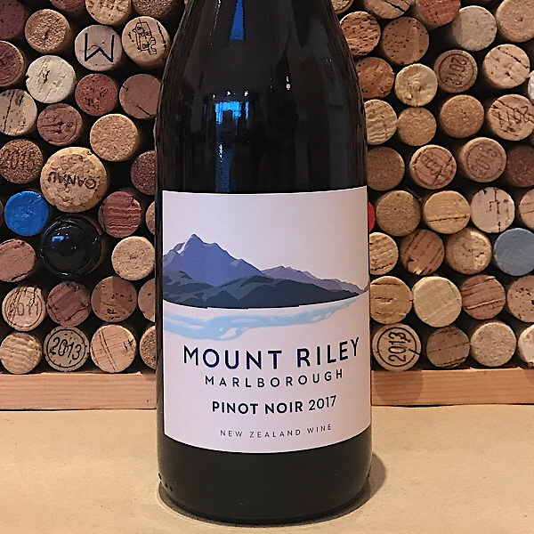 Mount Riley Marlborough Pinot Noir 2017