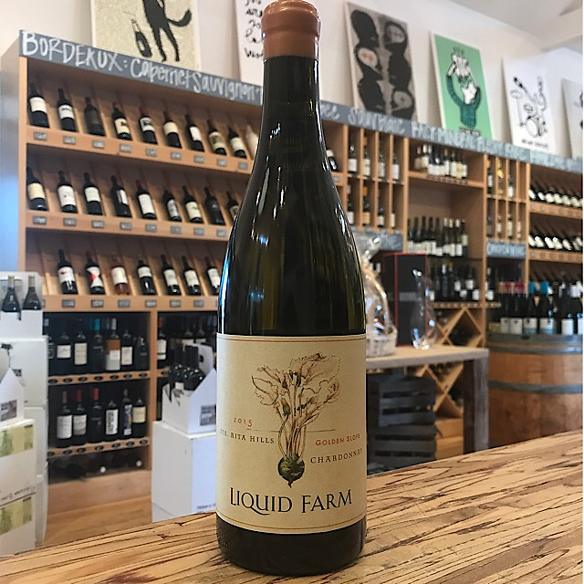 Liquid Farm Sta. Rita Hills Golden Slope Chardonnay 2015