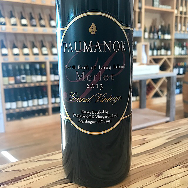 Paumanok Vineyards Grand Vintage Merlot 2013