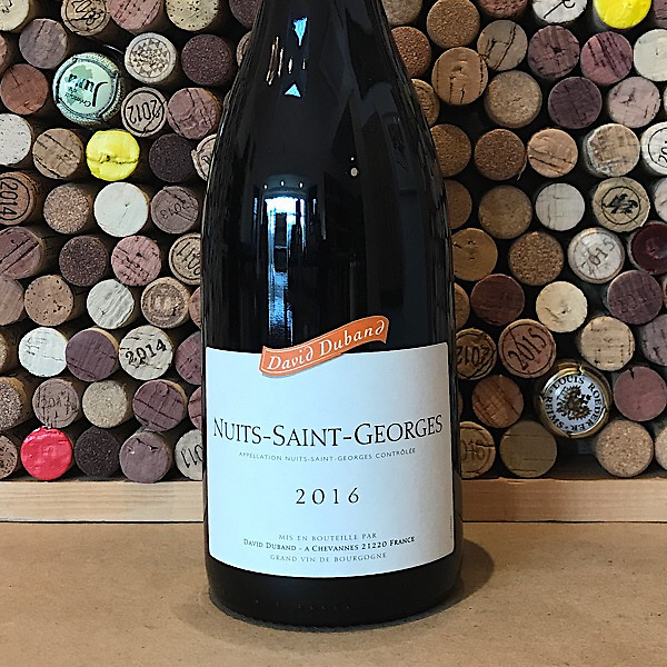 David Duband Nuits Saint Georges 2016