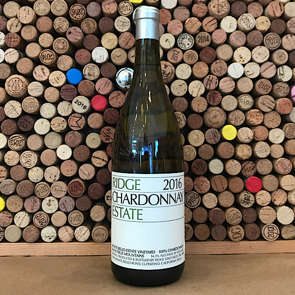 Ridge Estate Santa Cruz Mountains Chardonnay 2018