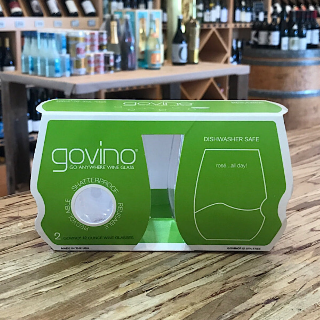 GOVINO WHITE 12oz 2PK