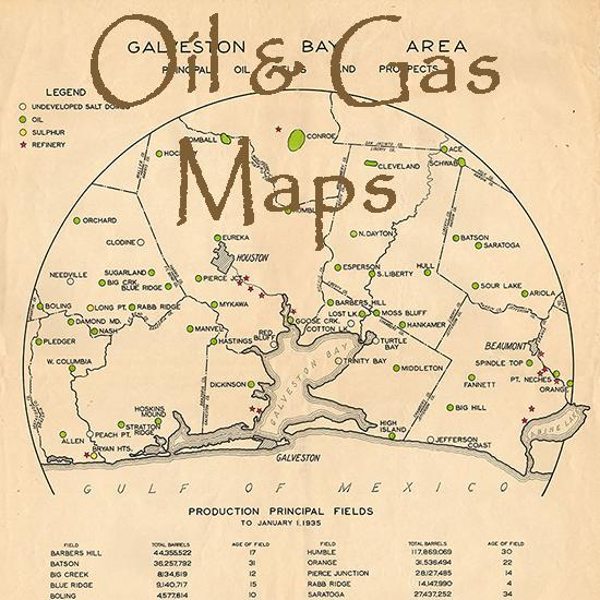 Oil and Gas Maps