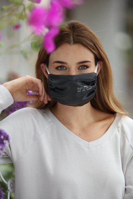 Never Apologize For Being A Bad Ass Woman Face Mask