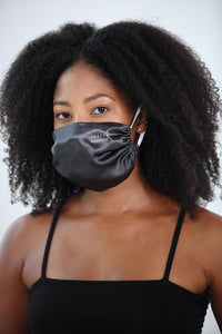 Pretty Powerful Satin Face Mask<br><strong>(multiple colors)</strong>