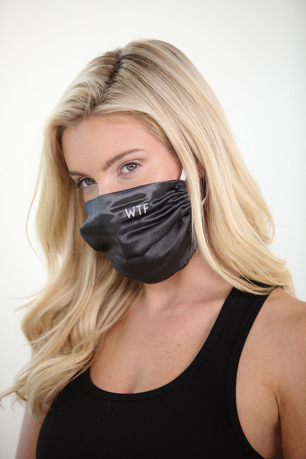 WTF Satin Face Mask<br><strong>(multiple colors)</strong>
